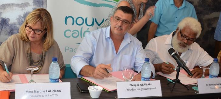 Parmi les signataires, outre Philippe Germain, Martine Lagneau et Mathias Waneux, respectivement présidente et président des GIE NCTPS et DIL.