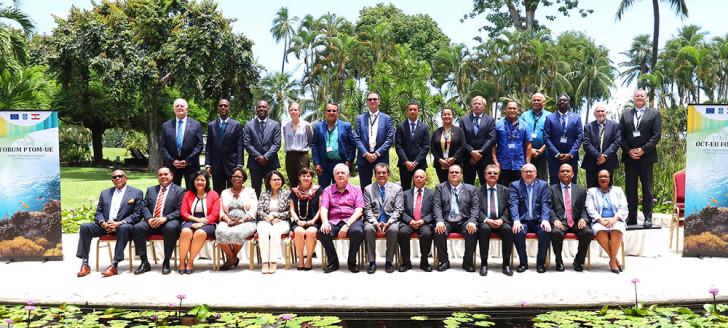 Le 17e Forum UE-PTOM s'est tenu à Papeete, vendredi 1er mars.