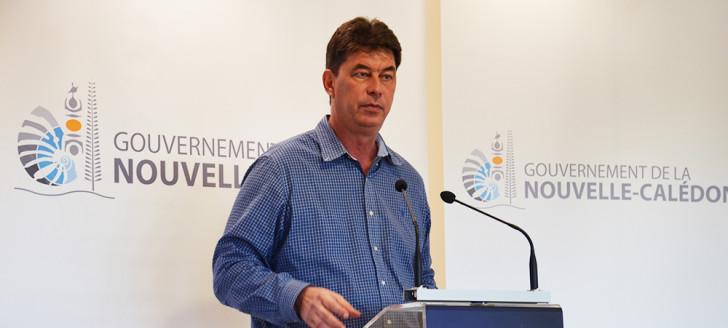 « C'est la première fois qu'un gouvernement de la Nouvelle-Calédonie propose la création d'une fiscalité fléchée sur un fonds pour les générations futures », a rappelé le président Thierry Santa.