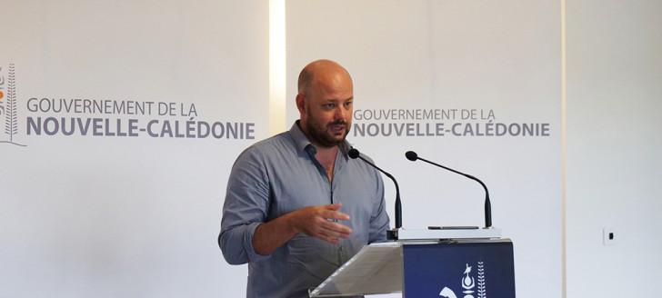 Christopher Gygès a présenté le 9 juin les mesures de sauvegarde pour les secteurs durablement touchés par la crise et les mesures drastiques prises pour limiter la propagation du coronavirus.