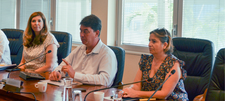 Le comité de pilotage sur le cycle de travail Nickel, présidé par Thierry Santa, s'est réuni pour la seconde fois ce mercredi 21 octobre.