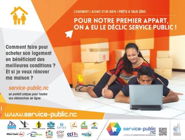 Coup d'envoi du portail « service-public.nc »
