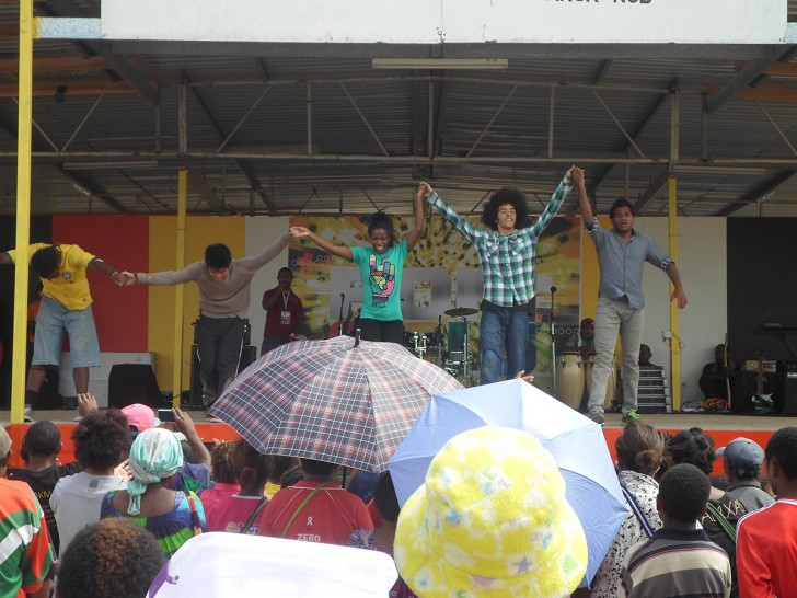 Les artistes se préparent pour Guam
