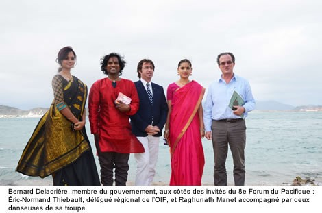 L'Inde au Forum francophone du Pacifique