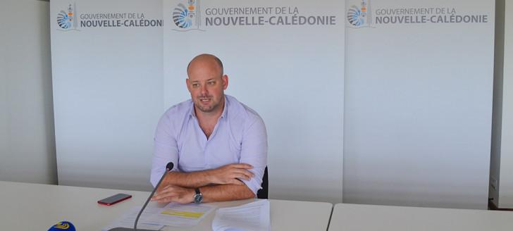 Christopher Gygès a présenté trois textes en partance pour le Congrès qui découlent de la loi du pays de soutien à la croissance de l'économie calédonienne.