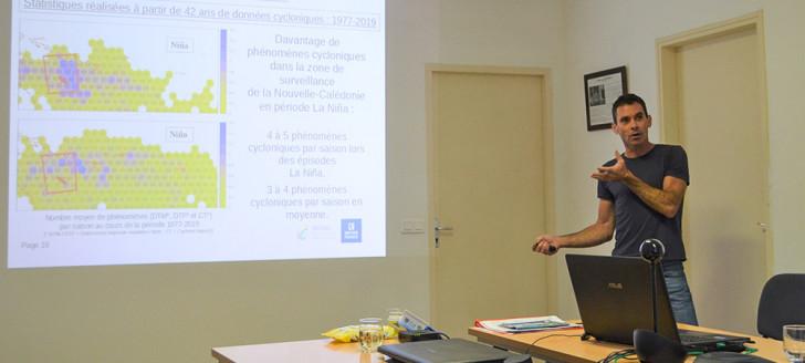 Météo-France Nouvelle-Calédonie a déclaré la saison cyclonique 2020-2021 ouverte, lors d'une conférence de presse, jeudi 4 décembre.