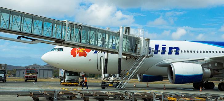 La limitation des programmes d'exploitation des services aériens réguliers internationaux, au départ et à destination de la Nouvelle-Calédonie, est prolongée jusqu'au 31 juillet 2021 (photo CCI).