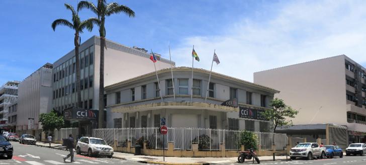 Les statuts des chambres consulaires, comme ici la CCI, sont fixés par des actes réglementaires adoptés pour certains avant l'Accord de Nouméa.