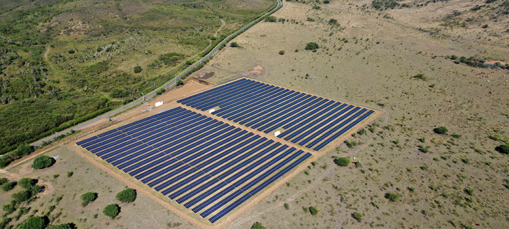 Les objectifs de production d'électricité d'origine photovoltaïque sont désormais fixés à 293 MW d'ici à 2025 (© engie).