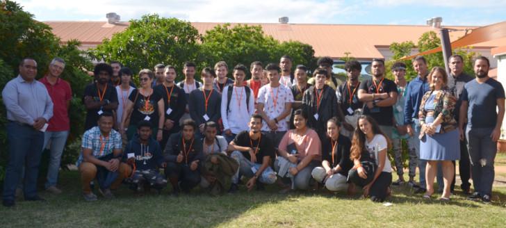 Les étudiants de BTS en services informatiques aux organisations ont visité la DTSI le 23 juin.