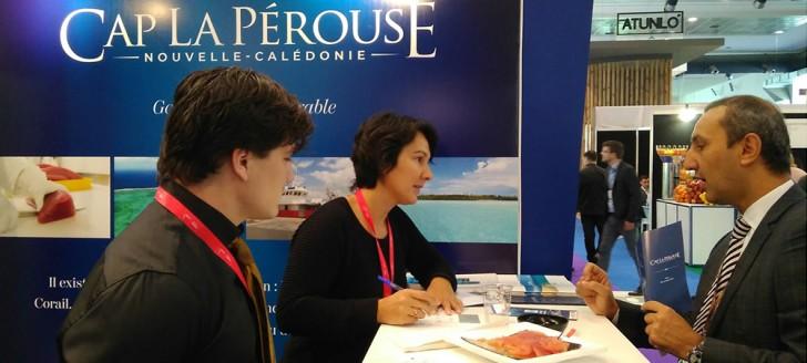 La participation au Seafood a reçu le soutien du cluster New Caledonia Trade and Invest (NCT&I), de l'ERPA et du gouvernement de la Nouvelle-Calédonie (© Fédération des pêcheurs hauturiers).