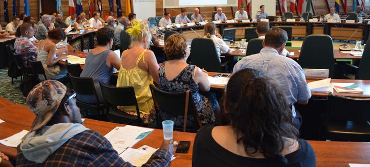 C'est la première fois qu'une telle réunion était organisée à l'échelle du pays.
