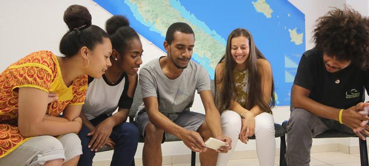 Les étudiants ont participé à deux journées de séminaire de groupe.