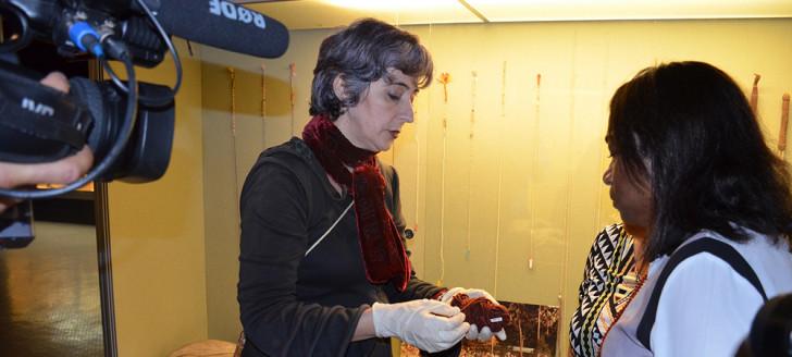 La formation s'est déroulée mardi 9 juillet simultanément au Musée de Nouvelle-Calédonie et aux services des Archives.
