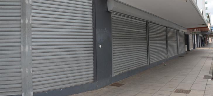 Depuis le début du confinement, de nombreux commerces ont dû baisser le rideau.