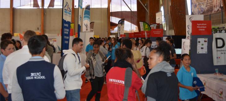 Le Salon de l'étudiant a attiré plus de 8 000 visiteurs en 2019.