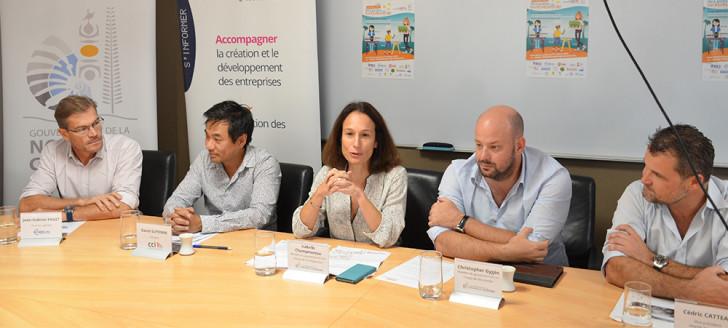 Le lancement du Rendez-vous des petits entrepreneurs s'est déroulé le 24 août en présence d'Isabelle Champmoreau et de Christophe Gygès.
