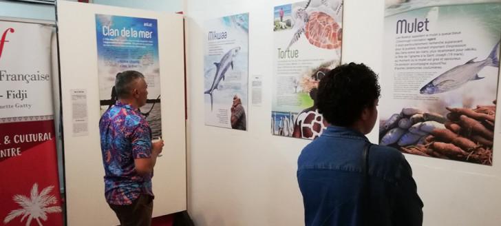 « Pêcher pour exister » à l'Alliance française de Suva, du 7 au 27 février.