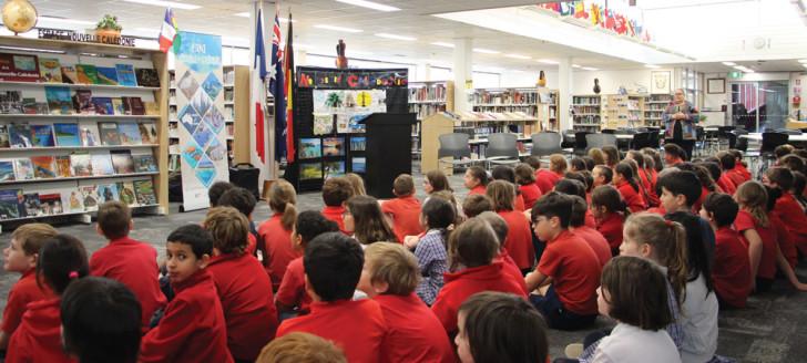 Les élèves du lycée franco-australien Telopea School Park ont honoré la Nouvelle-Calédonie au travers d'un projet conçu dans le cadre du concours « Dis-moi dix mots. »