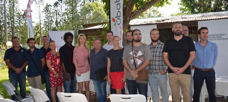 La communauté French Tech Nouvelle-Calédonie s'est réunie le 3 juin pour officialiser sa labellisation.