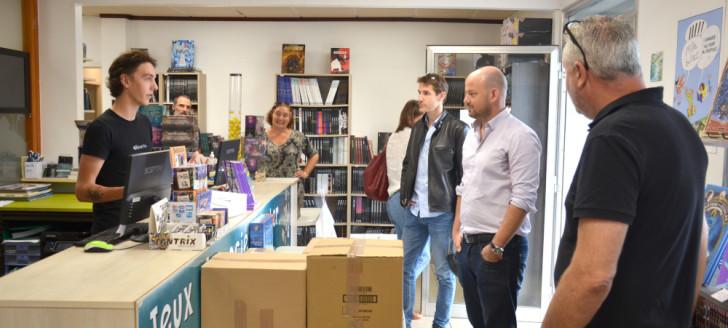 La librairie Ludik a développé la vente en ligne afin de maintenir un minimum d'activité pendant la période de confinement.
