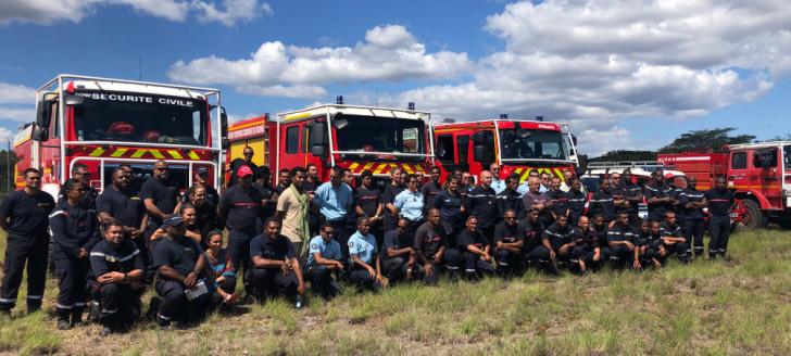 Une soixantaine de personnes a participé à l'exercice organisé à Koné le 12 septembre.