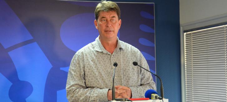 Le président du gouvernement Thierry Santa a annoncé la décision d'allègement des régulations de marché pour le secteur des tubes et tuyaux en PVC.
