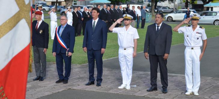 Le président du gouvernement Thierry Santa a participé à la cérémonie aux côtés des autorités civiles et militaires.