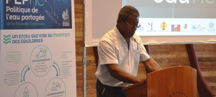 « Ce Forum de l'eau 2019 répond au cadre défini par la délibération fondatrice de la PEP, mais il vise surtout à créer du lien et du partage », a déclaré Jean-Pierre Djaïwé.
