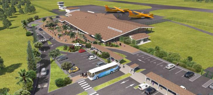 Le projet de la future aérogare de Lifou-Wanaham a été conçu par le cabinet d'architecture MMW.