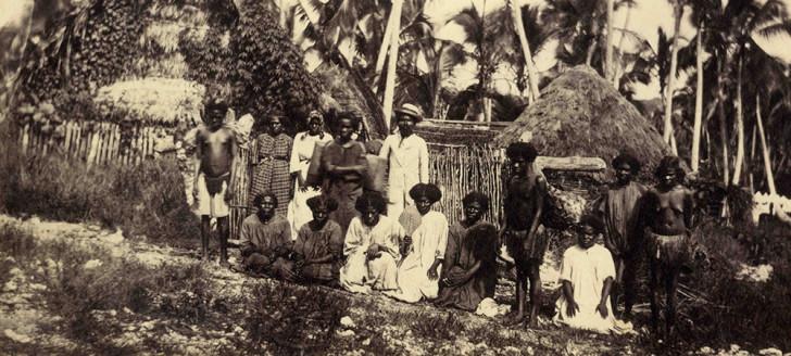 Première photographie recueillie par les Archives, attribuée à Evenor de Greslan (fin 1866-début 1867).© SANC