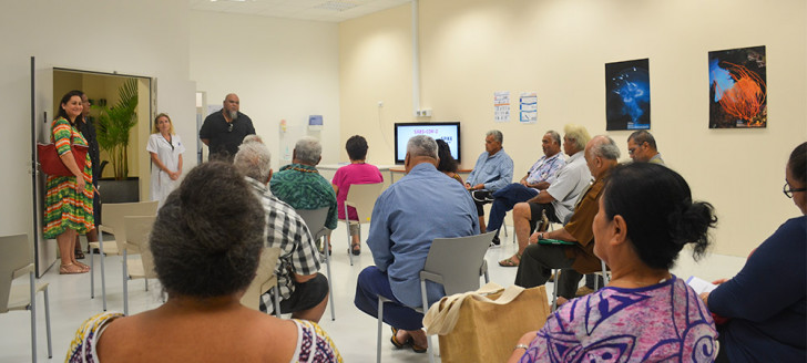 Ils étaient plus d'une vingtaine de représentants de Wallis-et-Futuna à avoir souhaité se faire vacciner au Médipôle.