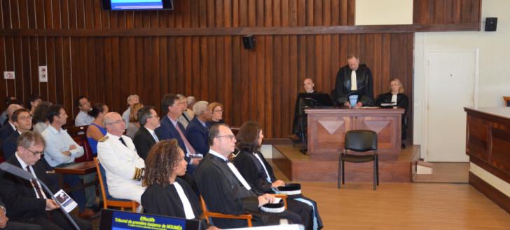 L'audience solennelle de rentrée s'est déroulée au Palais de justice de Nouméa.