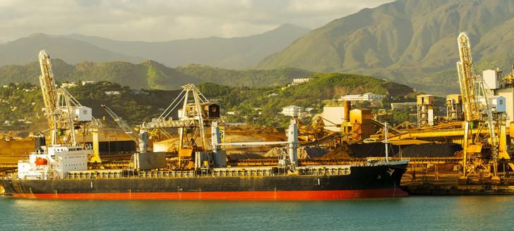 L'exportation de matière non transformée fait partie du plan de sauvegarde de la SLN.