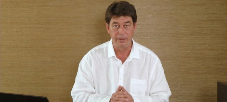 Le président du gouvernement Thierry Santa s'est exprimé le 4 avril sur la crise du Covid-19.
