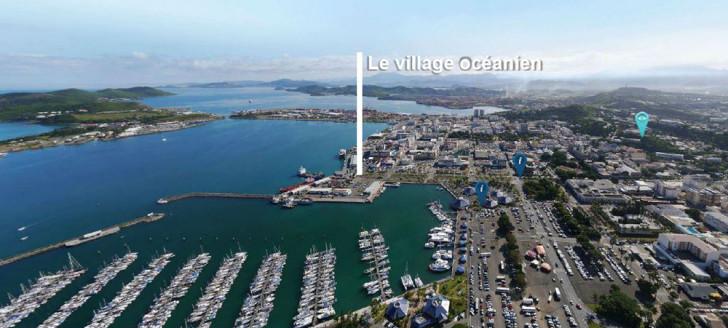 Le futur village océanien sera situé sur le quai des scientifiques. Le terrain a été rétrocédé à la Nouvelle-Calédonie par le Port autonome.